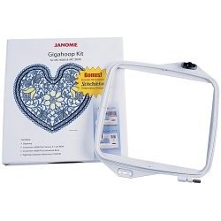 Janome embroidery machine giga hoop kit and for Janome memory craft 9500