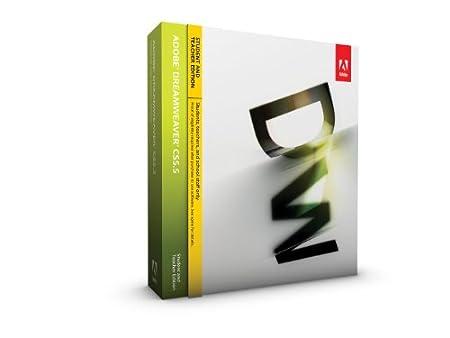 Adobe Dreamweaver CS5.5 - Version étudiante et enseignante [Mac]