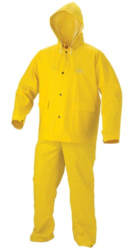 [Coleman 30mm Industrial Rain Suit, Yellow, Medium] (Fisherman Costume)
