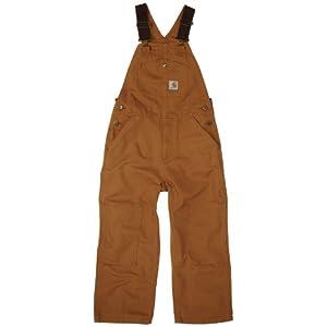 Carhartt Boys 8-20 Washed Bib Overall
