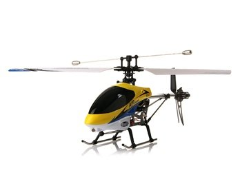 3.5-Channel Remote Control Helicopter with Gyroscope (Yellow)
