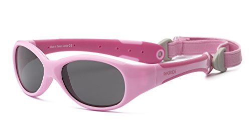 Real Kids Shades Pink/Hot Pink Double Injection Flex Fit Removable Band Frame With Pc 2Exppkhp