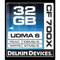 Delkin DDCF700-32GB 32GB CF 700X Memory Card 