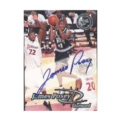 James Posey Denver Nuggets 1999 Press Pass Certified Autograph Autographed Hand...