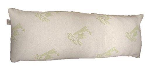 Body Pillow, Memory Foam Cool Comfort, Bamboo Aloe Vera Cover, Pressure Relieving, Hypoallergenic - Le Benton