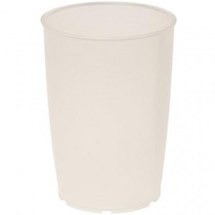Pflegebecher 0,25l natur-trans OKM 805 mit Skala (natur-transparent)