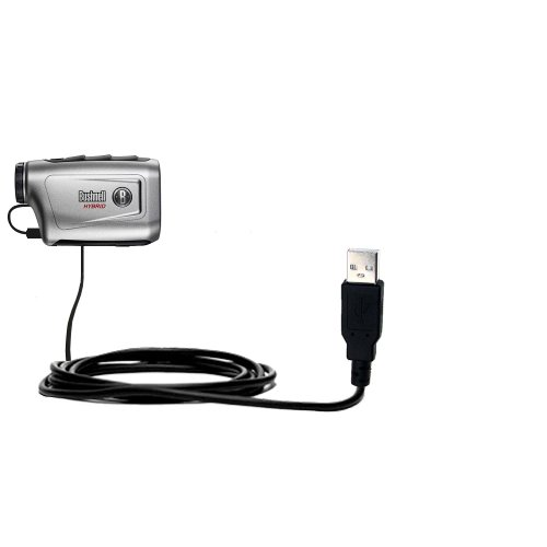 Usb Data Hot Sync Straight Cable Designed For The Bushnell Hybrid Laser Gps With Charge Function - Two Functions In One Unique Gomadic Tipexchange Enabled Cable