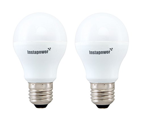 Instapower 7W E27 650L LED Bulb (Cool Day Light, Pack Of 2)
