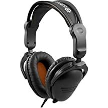 """Brand New Steelseries Aps - Steelseries 3Hv2 Headset - Stereo - Black - Mini-Phone - Wired - 50 Ohm - 10 Hz - 27 Khz - Over-The-Head - Binaural - Circumaural - 3.94 Ft Cable """"Product Category: Audio Electronics/Headsets/Earsets"""""""