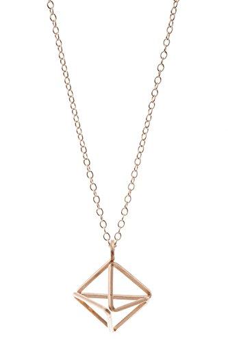 Halskette mit Pyramidenanhänger
