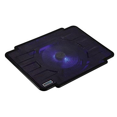 Zcl Thin Ice 1 :Hot Sale Laptop Cooler Fans With Single Led Fan , Red