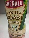Emerald Vanilla Roast Almonds Vanilla Bean 11 oz. (Pack of 3)