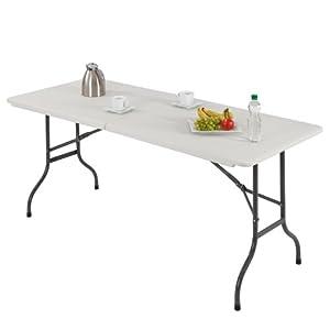 Ultranatura Table pliante multiusage en plastique, gamme Bamberg