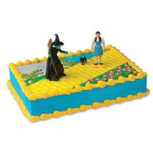 Wizard Of Oz Cake Decorating Kit : Amazon.com : Bakery Crafts -Wizard of Oz Characters Cake ...