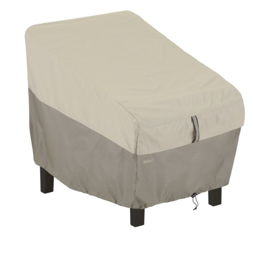 Classic Accessories 55-268-011001-00 Belltown Patio Chair Cover, Grey
