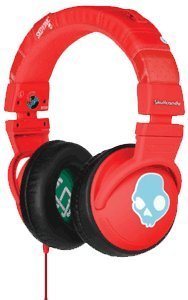 Skullcandy Hesh Headphones W/Mic - 2011 Red W/Mic (2011 Color), One Size