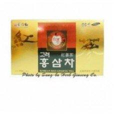 100 Bags 6Year Korean Red Ginseng Gold Tea ,Matcha Green Seed Diet Organic Drink