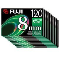 Fuji 8mm P6-120 Video Tape 10 PackB0000AUR22 : image