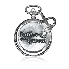 Pewter Pocket Watch-WD525
