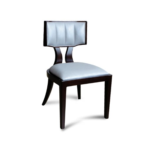International design usa regency leather dining chairs for Inter decor usa