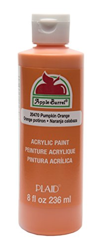 Apple Barrel Acrylic Paint in Assorted Colors (8 Ounce), 20470 Pumpkin Orange