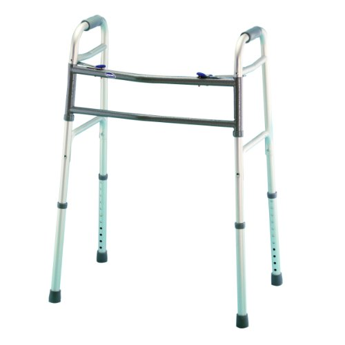 Bariatric Dual-Release Folding Walker (Bariatric Walker Tray compare prices)