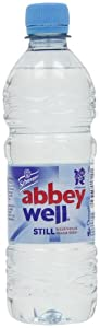 Abbey Well Natural Still Mineral Water 500 ml (Pack of 24)