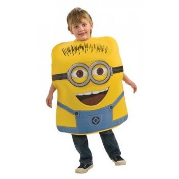 Despicable Me Childs Costume, Minion Jorge Costume-Toddler
