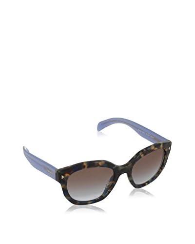 PRADA Gafas de Sol PR12SS UE04K0 (53 mm) Marrón / Azul