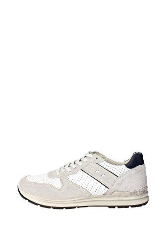 Imac 51140 Sneakers Uomo Pelle/camoscio Bianco/blu Bianco/blu 43