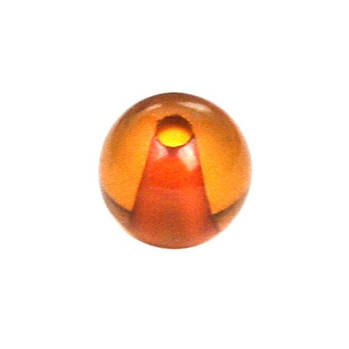 Genuine Baltic Honey Amber Drilled Bead, 4mm