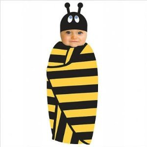 bumble bee swaddle costume