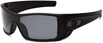 Oakley Mens Batwolf Rectangular Polarized Sunglasses by Oakley