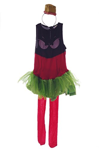 Marvin the Martian Girls Costume Medium 8-10