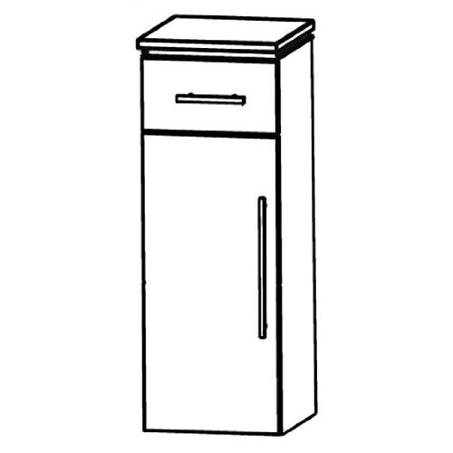 In Line Highboard (HBA554 A5ML/R) Bathroom, 40 cm