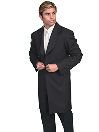 Steampunk Men's Coats Scully Old West Frock Coat  AT vintagedancer.com