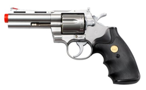 TSD Sports 4-Inch Barrel Spring Powered Airsoft Revolver