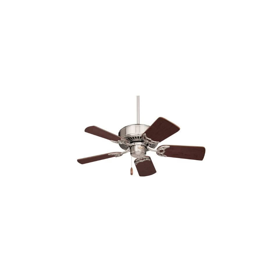 Emerson CF702BS Northwind 5 Blade Ceiling Fan in Brushed Steel