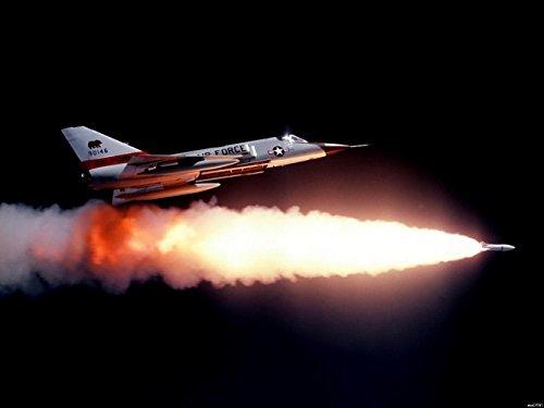 Clayton Binder Convair F-106 Delta Dart Ultimate Interceptor Military Printing wall poster 24