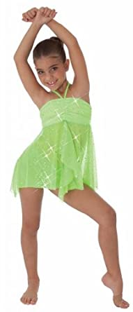 Buy Body Wrappers Adults Tweens 7713 Radiant Mesh Convertible Tunic Skirt by Body Wrappers