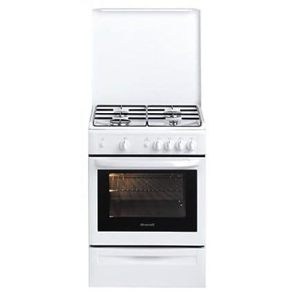 Brandt KGC1003W Cuisinière à Gaz 60 x 60