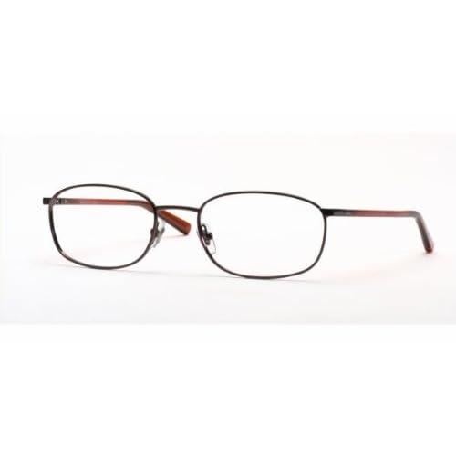 Eyeglasses Metal Frame : Amazon.com: RAY BAN 6127 RB6127 2511 BROWN METAL FRAME ...