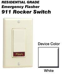 Leviton Decora Incandescent 911 Flasher Switch- White (^o