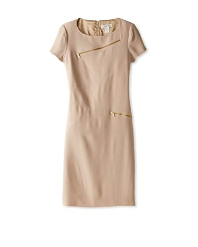 Zelda Women's Asymmetrical Zip Dress