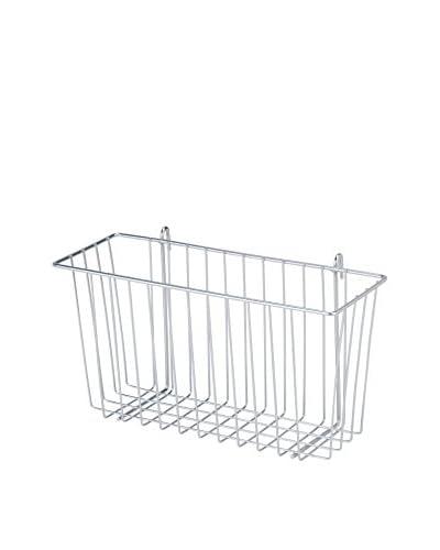 Honey-Can-Do Wire Accessory Basket, Chrome