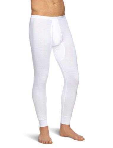 Schiesser Herren Lange Unterhose 005135-100, Gr. 7 (XL), Weiß (100-weiss)