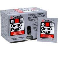 Optic Prep Premoistened Lens-Grade Tissue 4 X 8-1/4 Wipe - 50 Pack-By-Chemtronics