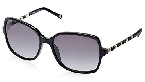 Escada Escada Rectangular Sunglasses (Black) (SES 273 0700 58)