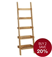 Step Ladder Shelving Unit