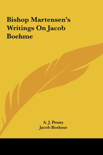 Bishop Martensen's Writings on Jacob Boehme